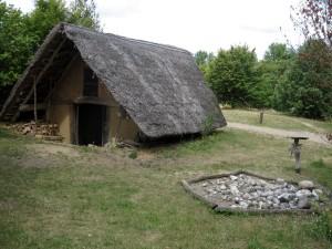 Hitzacker, archeologický park s rekonstruovanou starogermánskou