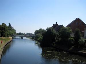 Most přes řeku Jesnu v Luchově