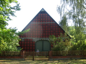 Satemin, dům ve skansenu drevanské okrouhlice