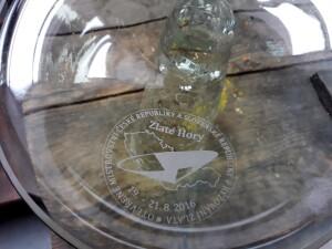 Pánev na rýžování skla