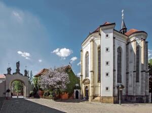 Pražskou Galerii Miro najdeme v kostele sv. Rocha u areálu Strahovského kostela
