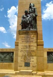Emily Hobhouseová, na rozdíl od Velké Británie, není v Jihoafrické republice zapomenuta. Ženám, které s dětmi a starými lidmi tvořily většinu uvězněných v koncentračních táborech, je věnován pomník obětem v Bloemfontein. Když Emily zemřela, tak zde byl uložen její popel