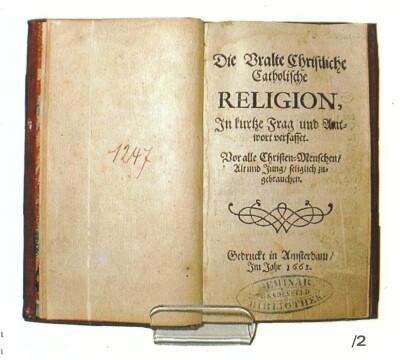 Katechismus Komenského, vydání z roku 1661