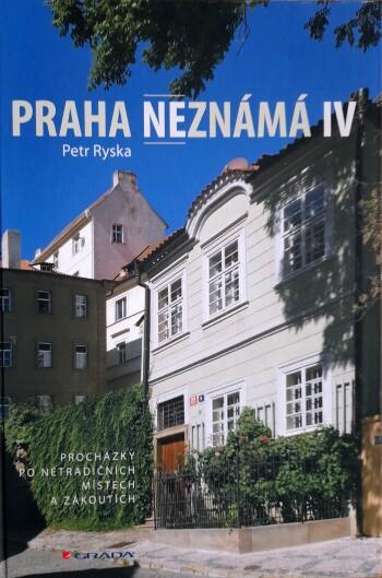 Praha neznama IV obalka