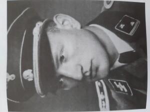 Igor Moravec jako příslušník SS