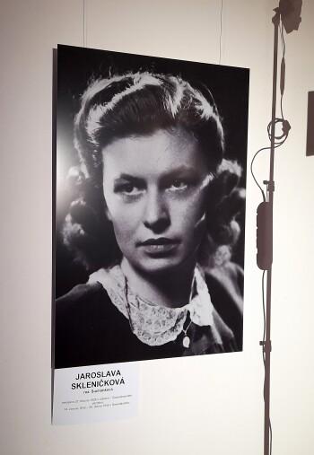 Jaroslava Skleničková, poslední žijící Lidická žena