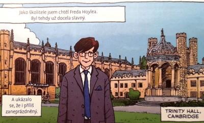 Hawking komiks foto 1