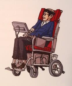 Hawking komiks foto 4