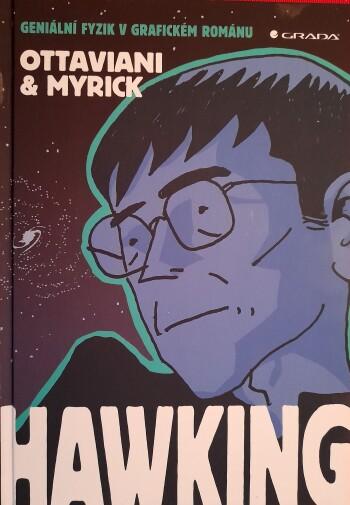 Hawking komiks obalka